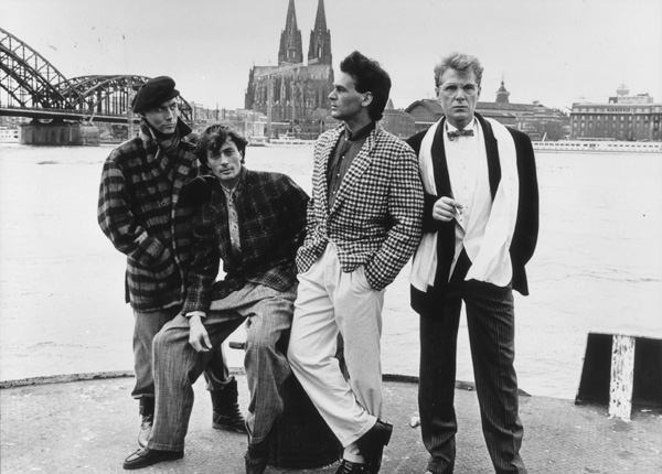 The Fashion Conscious Man [International Men's Fashion Week in Cologne, 1986]. Coutesy of Inter-Nationes and the German Information Center.